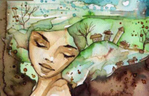 Blandine ou comment prendre le vert. Christiane Vial